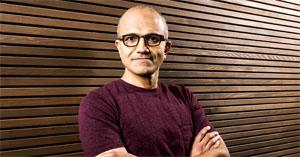 Satya Nadella, ο νέος διευθύνων σύμβουλος της Microsoft, από το 2014