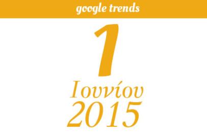 Google Trends - 01/06/2015