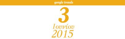 Google Trends - 03/06/2015