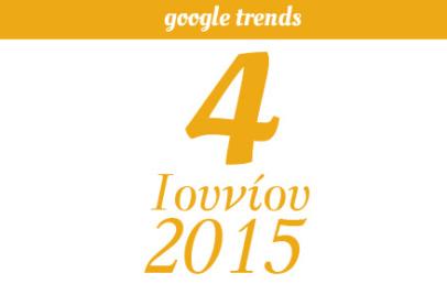 Google Trends - 04/06/2015