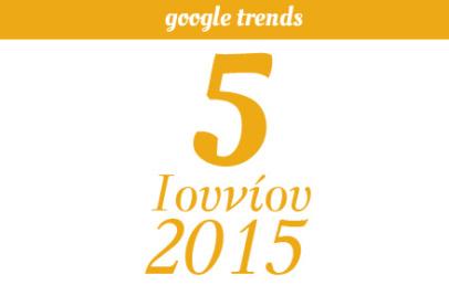Google Trends - 05/06/2015