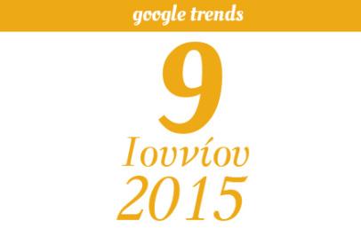 Google Trends - 09/06/2015