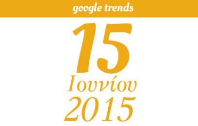 Google Trends - 15/06/2015