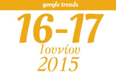 Google Trends - 16/06/2015 & 17/06/2015