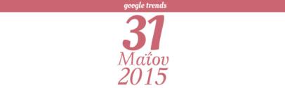 Google Trends - 31/05/2015