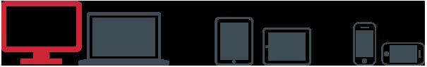 Οθόνες responsive για ιστοσελίδες