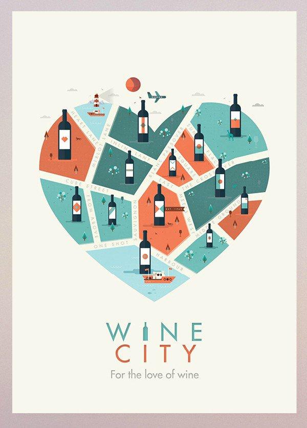 Wine City poster