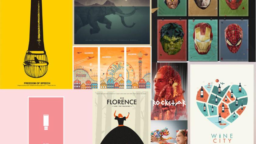 13 posters που θα εμπνεύσουν το επόμενό σας design