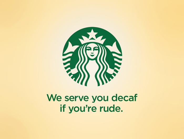 40 slogan που θα σας κάνουν να γελάσετε, starbucks