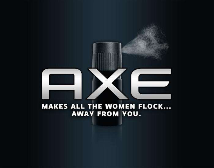 40 slogan που θα σας κάνουν να γελάσετε, AXE