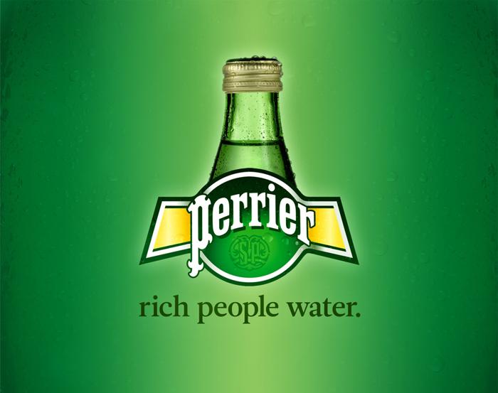 40 slogan που θα σας κάνουν να γελάσετε, Perrier